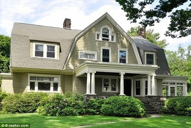 Sinister: The house in Westfield, New Jersey, which its current owners claim they can neither live in nor sell because of the letters they have received from 'The Watcher'