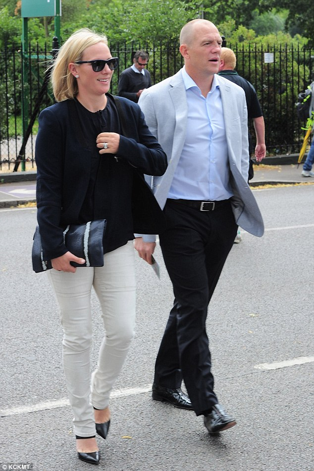 The couple appeared deep in thought as they made their way into the grounds in south west London