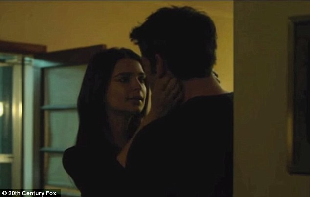 Temptation: While Garner put her career on the back-burner, Affleck took on project after project working with numerous attractive actresses. He is seen in a still from Gone Girl with co-starEmily Ratajkowski