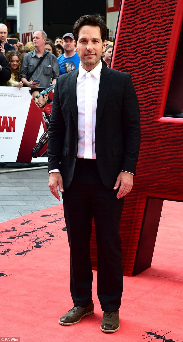 Superhero: Paul plays thief Scot Lang, who must help his mentor Dr. Hank Pym (Douglas) is safeguarding the Ant-Man technology, which allows its user to decrease in size