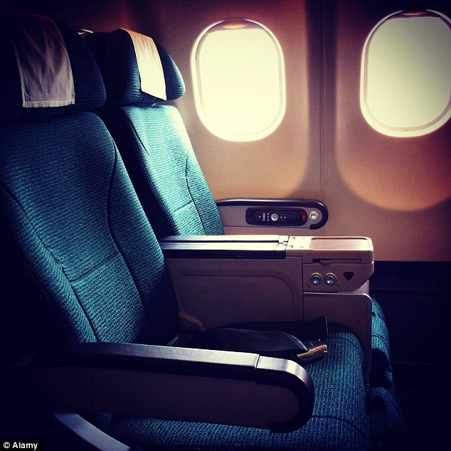 According to statistics by EasyJet last year, the seat most highly sought after seat is 7F