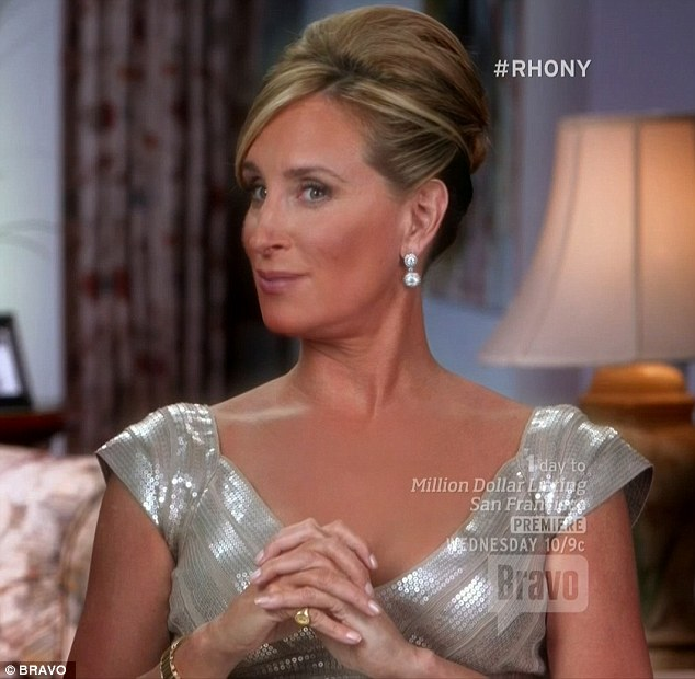 Literally speaking: Sonja noted that Luann was more than just tipsy at dinner