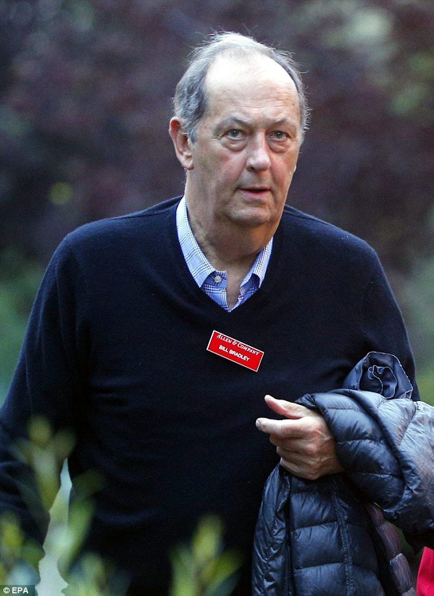 Former NBA star Bill Bradley was one of the many members of the sports industry invited to attend