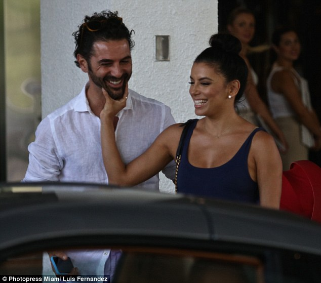 Third time lucky? The former Desperate Housewives star is smitten with the 46-year-old media giant who she had been dating for more than a year