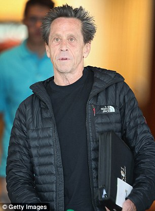 Brian Grazer, co-chairman of Imagine Entertainment, attends the Allen & Company Sun Valley Conference on Tuesday evening