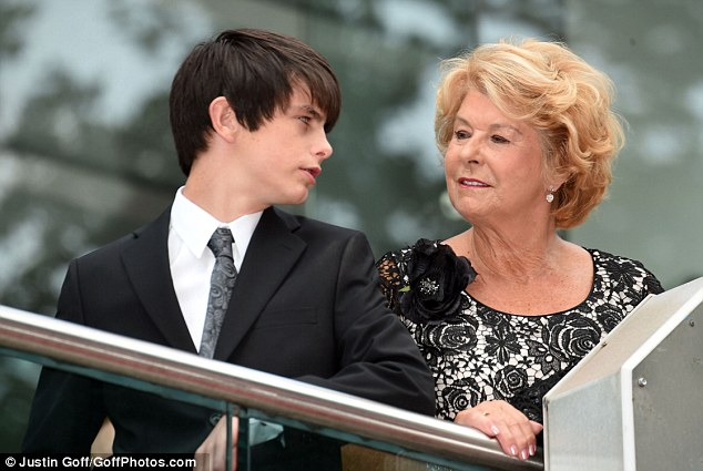 Pulling together: The family have rallied to support Michael in the wake of his mother's death