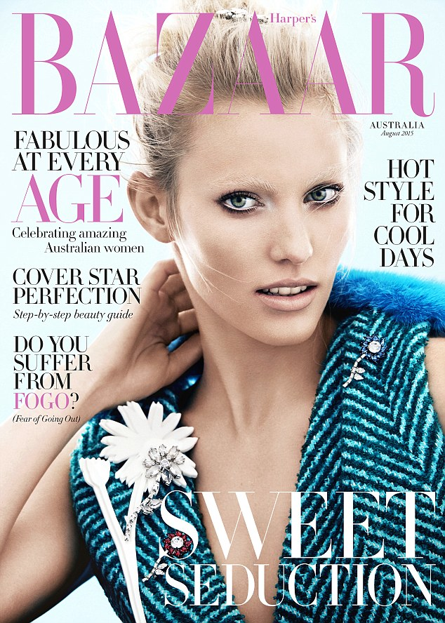 On sale now: For the full story and shoot, pick up a copy of Harper's Bazaar Australia's August 2015 edition