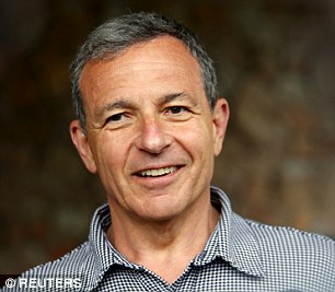 Disney CEO Bob Iger smiles as he arrives for the the annual Allen and Co. media conference on Tuesday