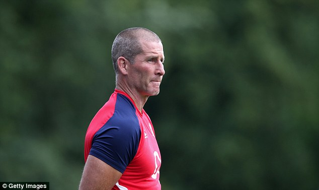 Stuart Lancaster watches over his squad, five of whom will be cut when they leave the UK this weekend