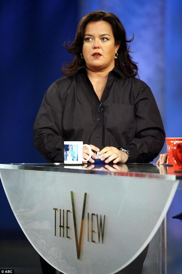 Not the first: Perez is the second Rosie to jump from The View ship this year, Rosie O'Donnell left in February