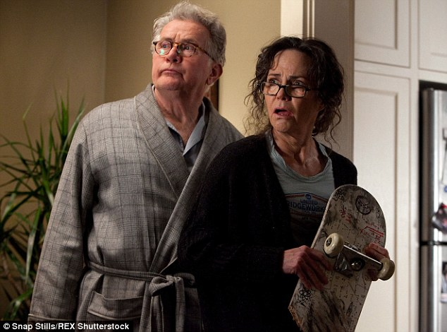 Previous update: Sally Field played the role of Aunt May in the 2012 adaptation - she is pictured here with Martin Sheen who starred as Ben Parker