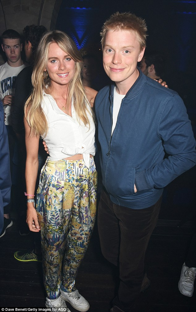 Cressida, who looked pared-back, has forged a close friendship with Riot Club star Freddie Fox recently