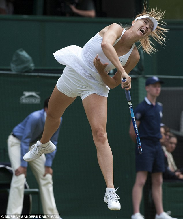 One area where Maria Sharapova reigns supreme is in the modern phenomenon of on-court grunting