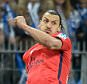 """Zlatan Ibrahimovic of Paris Saint-Germain, reacts after scoring his first goal of the night during the French League Cup Final between Paris Saint-Germain and SC Bastia FC at Stade de France on April 11, 2015 in Paris, France.   PARIS, FRANCE - APRIL 11:   (Photo by Aurelien Meunier/Getty Images)  """"Please note this image forms part of the Getty Premium Access agreement and may incur an additional fee. If reused it must be downloaded from the Getty site"""""""