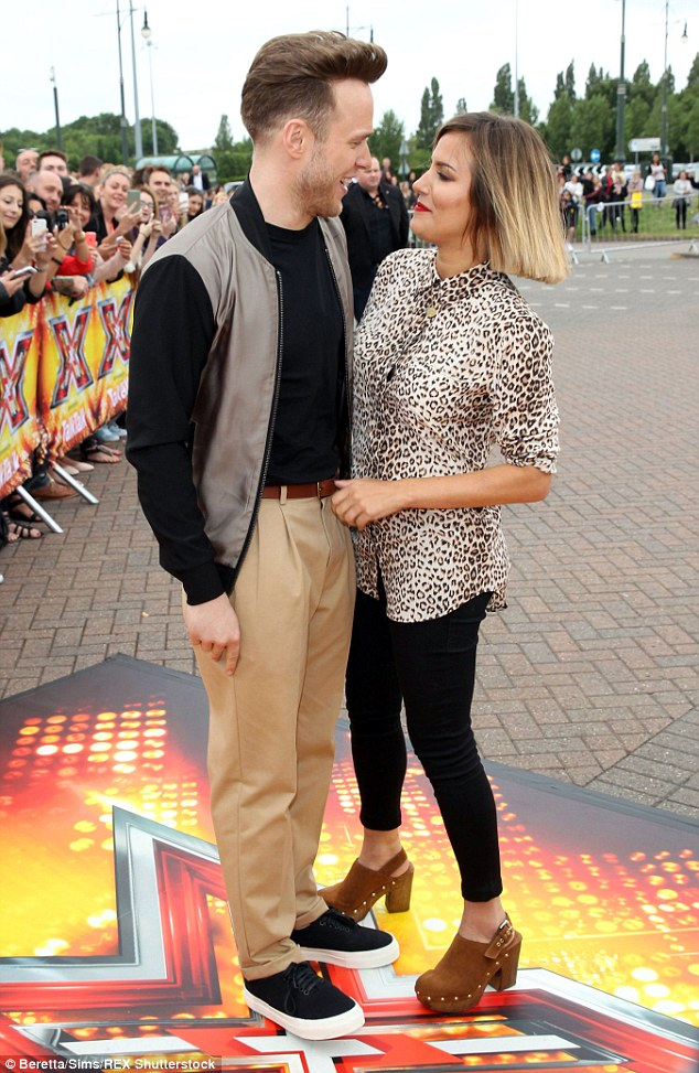 Happy days: The duo, who hosted the Xtra Factor together in 2011 and 2012, will now present the main show