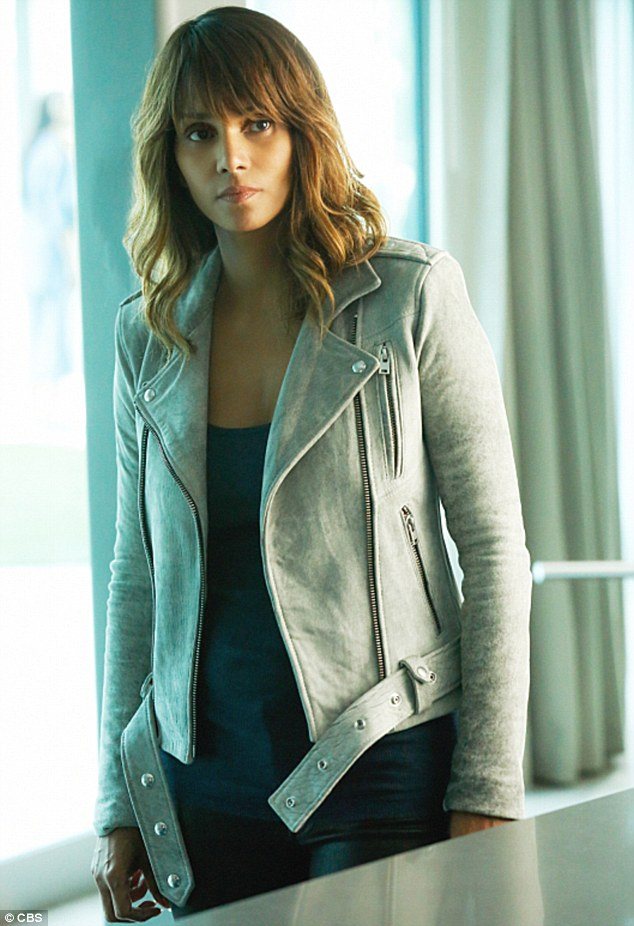 Sci-fi star: The Oscar-winning actress is shown portraying Molly Woods in a still from the second season of the CBS show extant