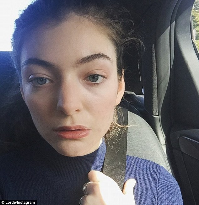 She's got the look! Lorde looked positively radiant as she appeared makeup free on Wednesday
