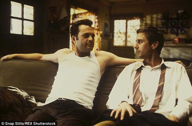 Signature role: The 43-year-old actor - pictured with Vince Vaughn - is best known for starring in 2003 hit comedy Old School