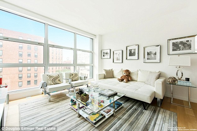 Property entrepreneur: Gigi Hadid has just listed her Manhattan apartment for $2.45 million. She bought the luxury loft for $1.92 million last year via a trust in her mother's name