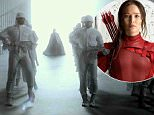 jennifer lawrence hunger games mockingjay trailer