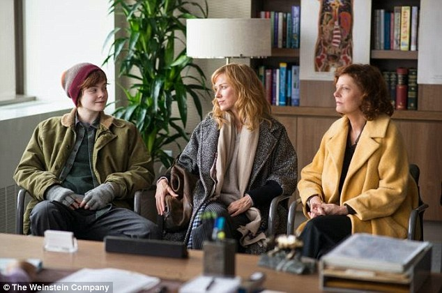 '[She needs the] hormones necessary to transition before the next school year':The timely tale - hitting US theaters September 18 - also stars Naomi Watts (M), Susan Sarandon (R), and Tate Donovan