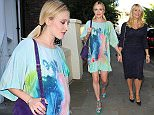 ITV Summer Party at a private address in West London - Arrivals Featuring: Fearne Cotton, Holly Willoughby Where: London, United Kingdom When: 09 Jul 2015 Credit: WENN.com