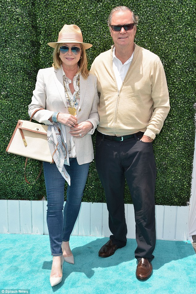 They mean the world to her:Richard and Kathy Hilton, pictured in May at theOvarian Cancer Research Fund's 2nd Annual Super Saturday, are said to have met with Thomas last week over dinner - and they approve