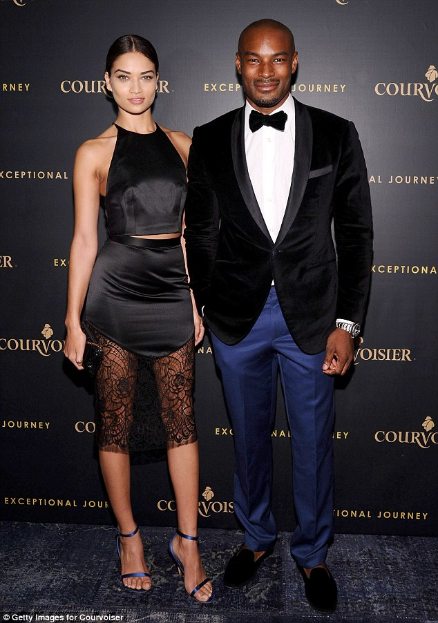 It's over!: Shanina recently split from her long-term on-off beau Tyson Beckford, 44