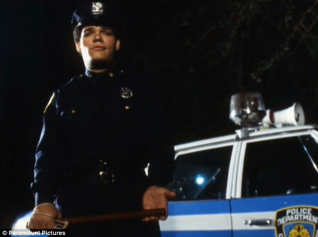 Big break: Irwin was born in New York City andmade his debut on the big screen in 1979's The Warriors, in which he played a policeman (seen here)