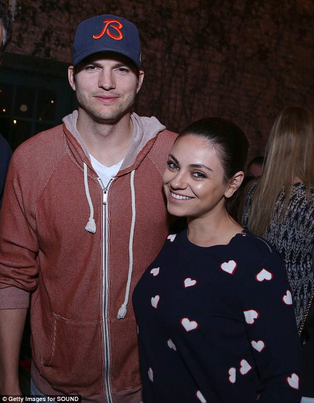 Newlyweds: After celebrating their marriage with a garden party at Parrish Ranch in Oak Glen, California on Saturday, Ashton Kutcher and Mila Kunis reportedly continued the festivities at Yosemite National Park