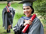 Sadie Frost graduated today with an MA in Film by Negotiated Study at Staffordshire University's Award Ceremonies on the Trentham Estate. Sadie co founded her own production company Blonde to Black Pictures in 2011 and has worked on a number of features  including Buttercup Bill which is  to be premiered in London and Set the Thames on Fire due for release next year.  Sadie, who left school at 16, believes the degree undertaken at Raindance has enabled her to gain a more thorough understanding of the industry in which she's made her name.  See NTI story NTIGRADUATE.
