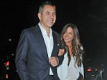 9.JULY.2015 - LONDON - ENGLAND NEWLY SINGLE DAVID WALLIAMS LEAVES ITV SUMMER GARDEN PARTY AT A PRIVATE RESIDENCE LONDON LOOKING  VERY COSY WITH KATE BECKINSALE AS THEY LEFT ARM IN ARM TO A WAITING CAR TOGETHER. BYLINE MUST READ : XPOSUREPHOTOS.COM ***UK CLIENTS - PICTURES CONTAINING CHILDREN PLEASE PIXELATE FACE PRIOR TO PUBLICATION *** **UK CLIENTS MUST CALL PRIOR TO TV OR ONLINE USAGE PLEASE TELEPHONE   44 208 344 2007 **