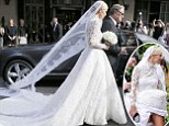 Billion dollar wedding nearly ruined by a Bentley: Nicky Hilton gets $75k dress stuck before marrying Rothschild heir at Kensington Palace where guests dined on mac and cheese, mini pizzas and caviar  Paris Hilton watches her sister Nicky marry James Rothschild in Kensington Palace wedding Nicky Hilton, 31, was every inch the blushing bride as she left Claridge's en route to her wedding at Kensington Palace this evening. With her was sister Paris, 35, who wore periwinkle blue. She emerged from the hotel on the arm of her father Richard Hilton. Earlier, the Orangery at Kensington Palace had been a hive of activity with huge boxes of white peonies and crates of champagne seen being unloaded at a back entrance. An enormous white marquee has also been erected. Meanwhile, friends and relatives of the couple have been taking to social media to congratulate them with Nicky's grandfather Barron posting a snap from the rehearsal.