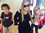 mariahcareyFirst day for Roc and Roe and they're already in summer school... Following in my footsteps... ?? #summerschool #vegas #mariahcarey