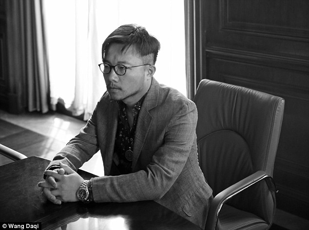 Bad habit: Author Wang Daqi, who wrote the book Children of Wealth, does not believe the government's attempts to drive more conservative values into the fuerdai generation would be successful