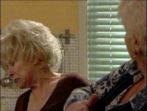 Pam St Clement and Barbara Windsor