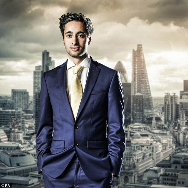 Looking for love: BBC Apprentice starSolomon Akhtaris won't let anything get in the way of him finding the girl of his dreams on Desi Rascals
