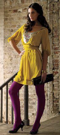 Yellow M&S dress