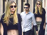 NEW YORK, NY - JULY 11:  Joe Jonas and Gigi Hadid are seen in the East Village on July 11, 2015 in New York City.  (Photo by Alo Ceballos/GC Images)