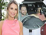 Vogue Williams pictured at the ITV Summer Party held at a private residence in West London  Pictured: Vogue Williams Ref: SPL1070087  090715   Picture by: Splash News  Splash News and Pictures Los Angeles: 310-821-2666 New York: 212-619-2666 London: 870-934-2666 photodesk@splashnews.com