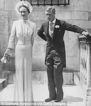 True love: The couple together in 1937, the year they married