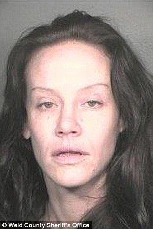 Peterson spent nearly three months in prison following her arrest in 2005 (pictured)