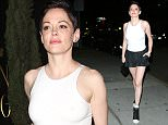 Rose McGowan Leaves The Nice Guy  Pictured: Rose McGowan Ref: SPL1076456  110715   Picture by: Photographer Group  Splash News and Pictures Los Angeles: 310-821-2666 New York: 212-619-2666 London: 870-934-2666 photodesk@splashnews.com