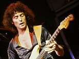 Ritchie Blackmore of Deep Purple performing live in the 1970's.      © Tony Mottram / Retna Ltd   Credit all Uses