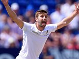CARDIFF, WALES - JULY 10:  England bowler Mark Wood celebrates after dismissing Nathan Lyon lbw during day three of the 1st Investec Ashes Test match between England and Australia at SWALEC Stadium on July 10, 2015 in Cardiff, United Kingdom.  (Photo by Stu Forster/Getty Images)