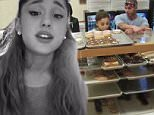 ***MINIMUM FEE TO BE AGREED BEFORE USE***\nEXCLUSIVE: **NO USA TV AND NO USA WEB** MINIMUM FEE APPLY** Ariana Grande and her new backup dancer boyfriend Ricky Alvarez seen in a Wolfee Donuts store which got dangerously close to some powdered donuts . Ricky and Ariana, engage in some serious mouth-to-mouth PDA in this security cam video obtained by TMZ.com ,which wouldn't have come to light if not for the donut sniffing or near licking, incident.\nSources inside Wolfee Donuts in Lake Elsinore, CA tell TMZ the couple came in on Saturday, and decided to play truth or dare with the goods -- daring each other to lick powdered jelly donuts on the counter. Time to lick the Donuts!\n\nPictured: Ariana Grande, Ricky Alvarez\nRef: SPL1072899  070715   EXCLUSIVE\nPicture by: TMZ.com / Splash News\n\nSplash News and Pictures\nLos Angeles:\t310-821-2666\nNew York:\t212-619-2666\nLondon:\t870-934-2666\nphotodesk@splashnews.com\n