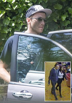 Jeremy Forrest pictured looking fit and refreshed near his bail hostel