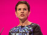 Mandatory Credit: Photo by Mark Thomas/REX Shutterstock (4155237am).. Mary Creagh, Shadow secretary of state for Transport.. Labour party conference - Sep 2014.. ..