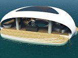 Forget the megayacht, designer reveals ?floating villa? that can be moored anywhere with calm water BMT Asia Pacific, the firm behind the Project Utopia floating island, has developed a new concept for a luxury floating villa envisioned for calm waters near the coast. Boasting an underwater bedroom that would literally let you sleep with the fishes, SeaScape can also be expanded with attachable pontoons to increase available floorspace.