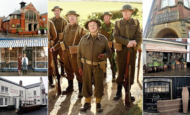 East Yorkshire transformed into Dad's Army's Walmington-on Sea for movie